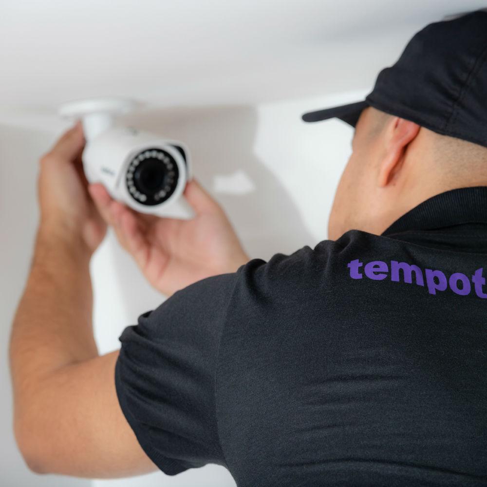 Empresa de instalação de câmeras de segurança Tempo Tem