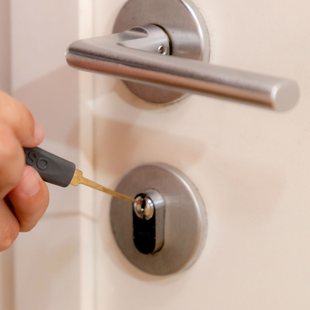 Abertura de fechadura simples com garantia