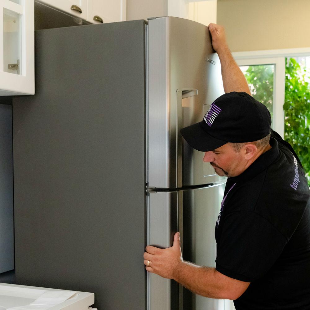 Instalação de Freezer