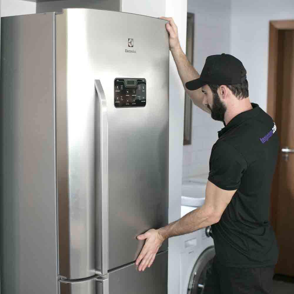Serviço de instalação de geladeira Tempo Tem