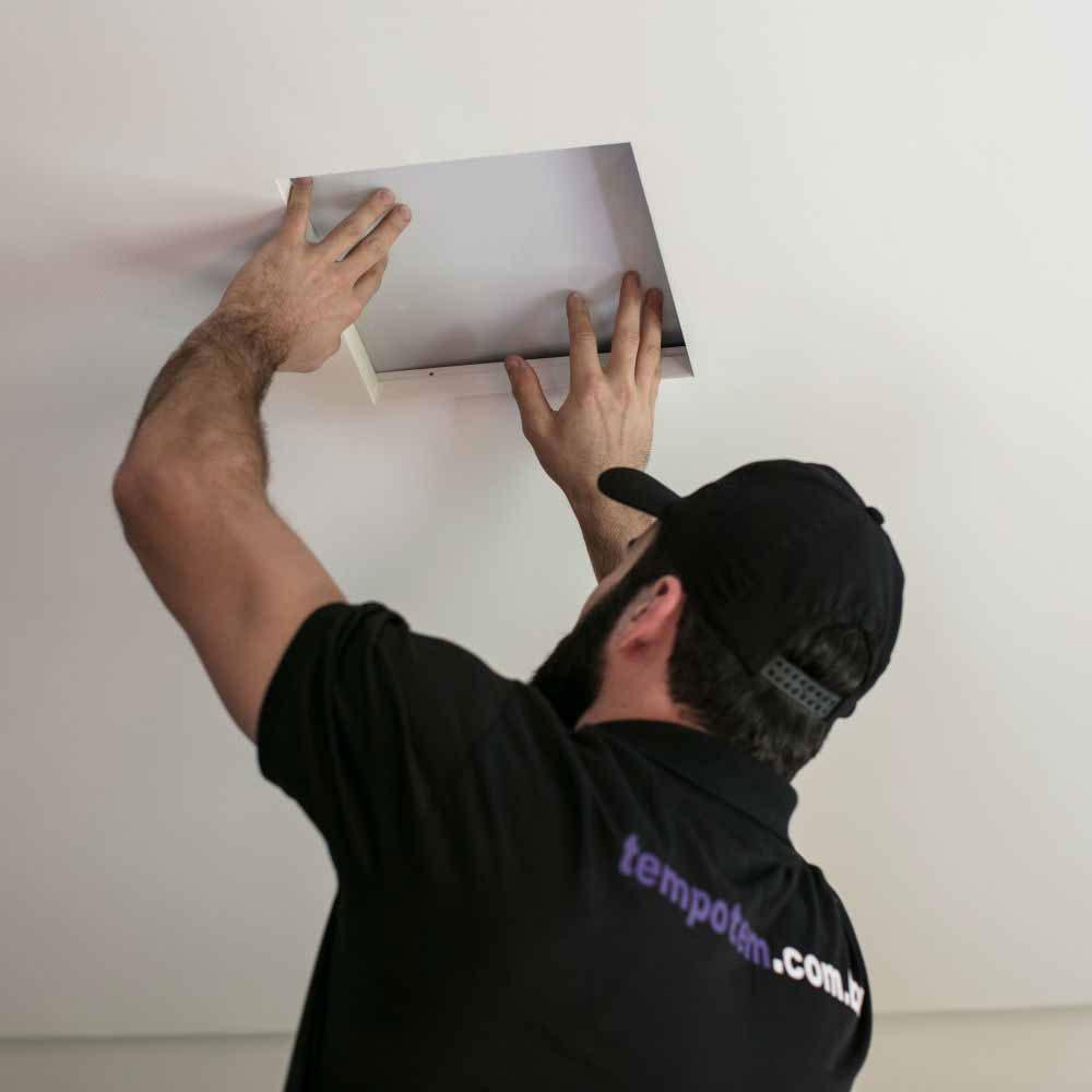 Serviço de instalação ou troca de plafon