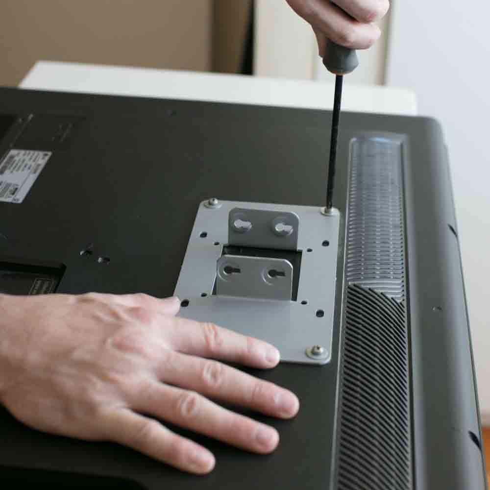 Instalar suporte de TV com equipe especializada