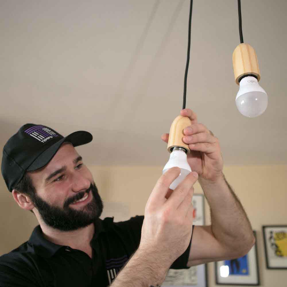 Instalação de lâmpadas com ótimo preço