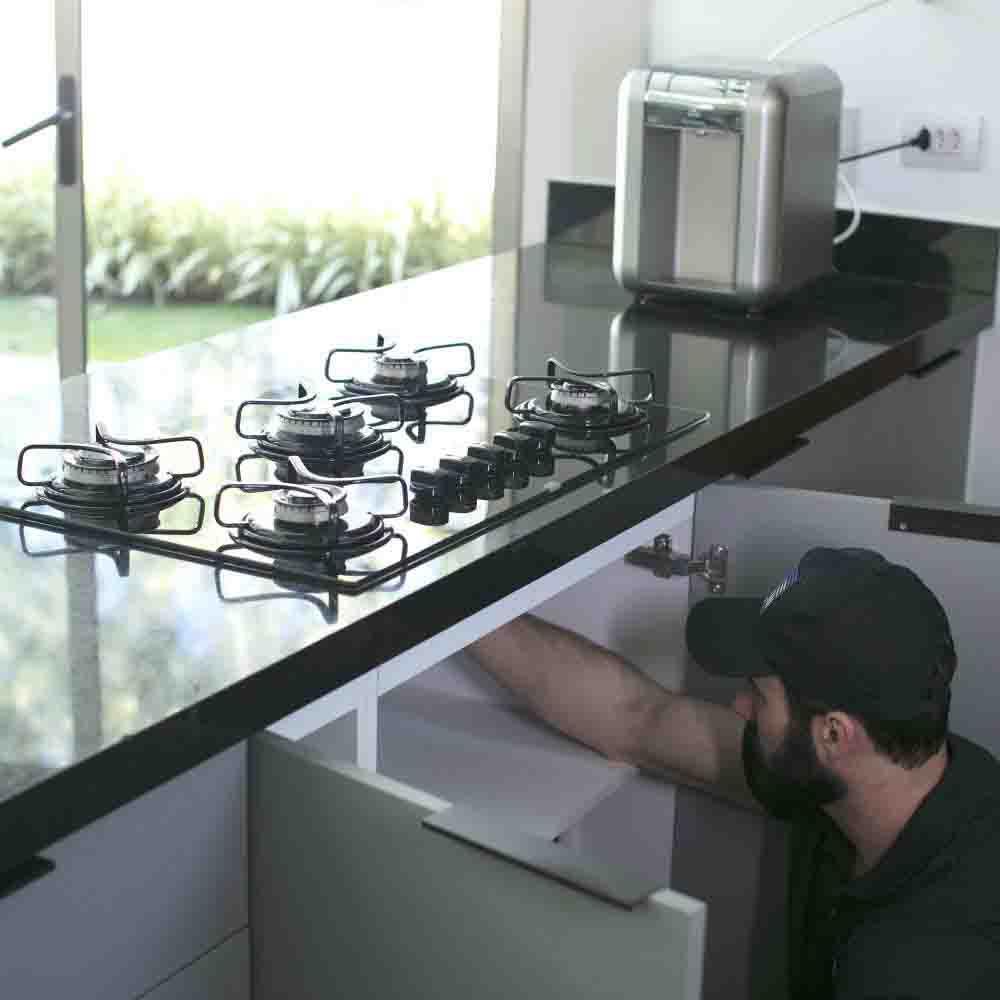 Instalação de cooktop com qualidade e segurança