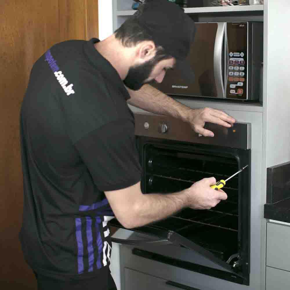 Instalar forno com agilidade e segurança Tempo Tem