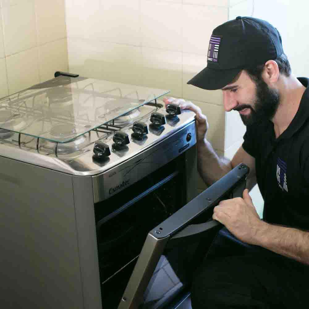 Empresa de instalação de fogão Tempo Tem
