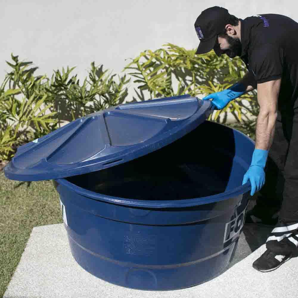 Remove impurezas e garante qualidade da água