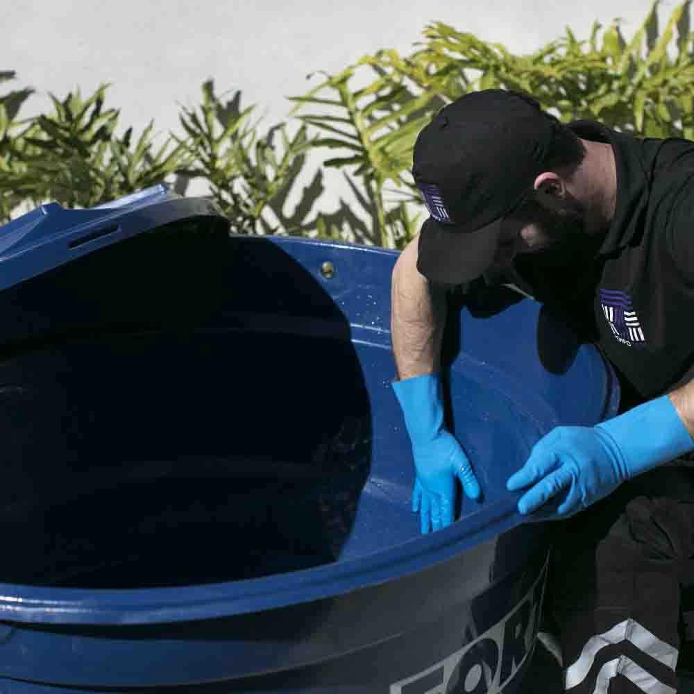 Empresa de higienização de caixa d'água TempoTem