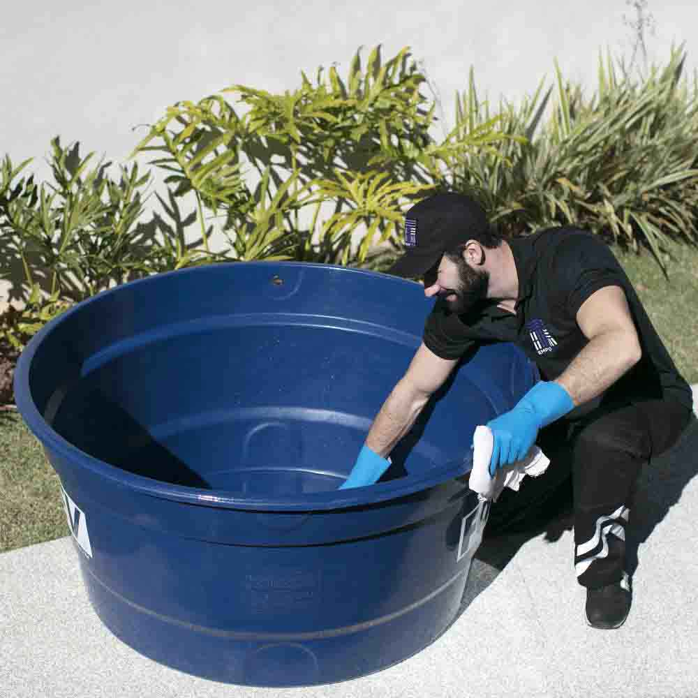 Limpeza de caixa d'água