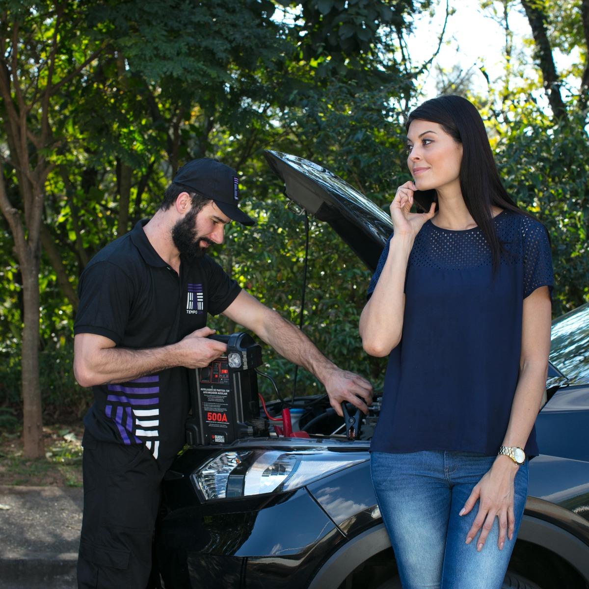 Serviço de auto socorro para avaliação completa do veículo
