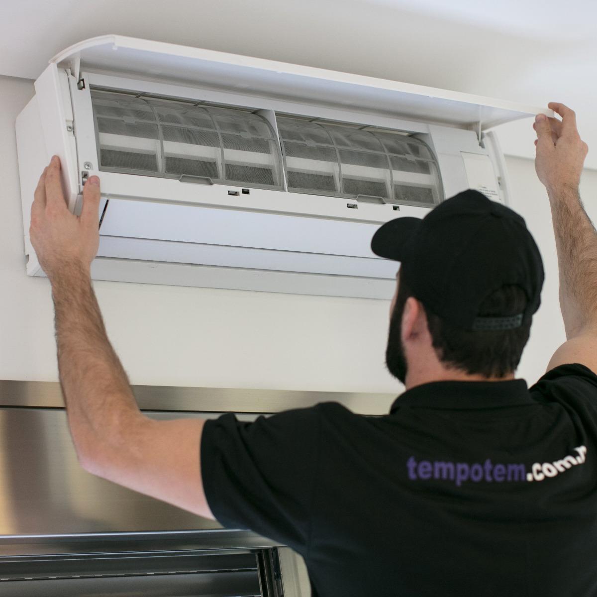 Instalação de ar-condicionado split