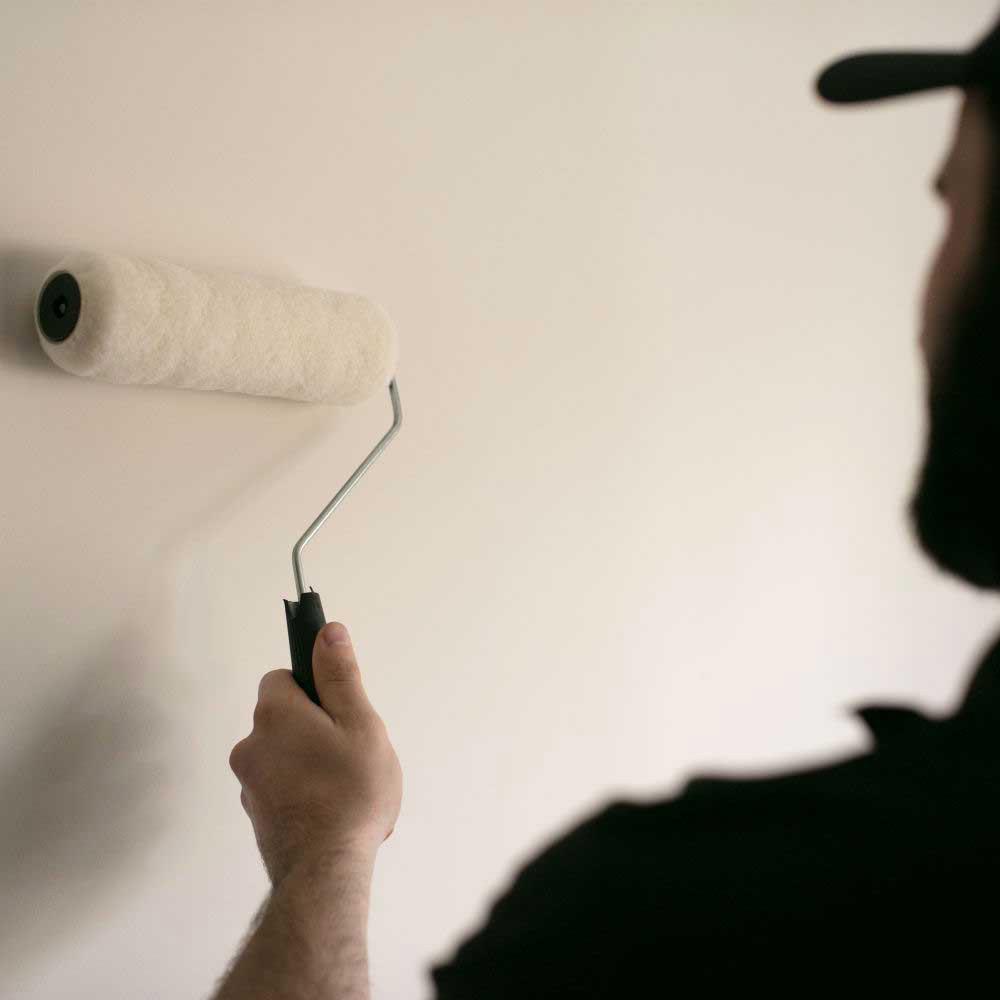 Empresa de pintura simples na cor branco fosco TempoTem