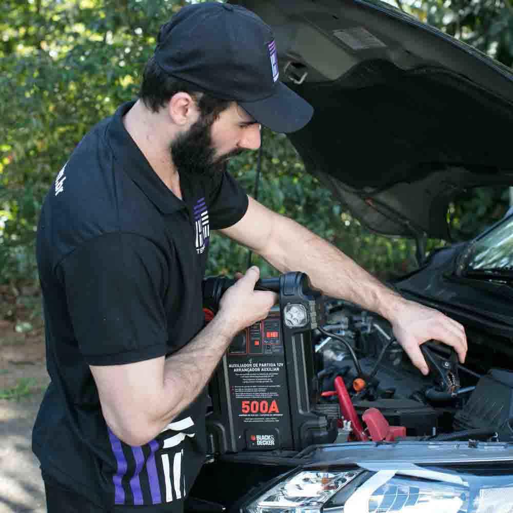 Revisão de itens do motor com checklist de cada peça