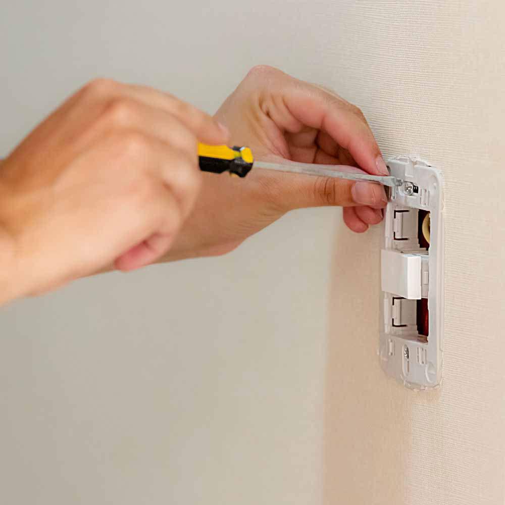 Instalação de interruptores de todas as marcas e modelos