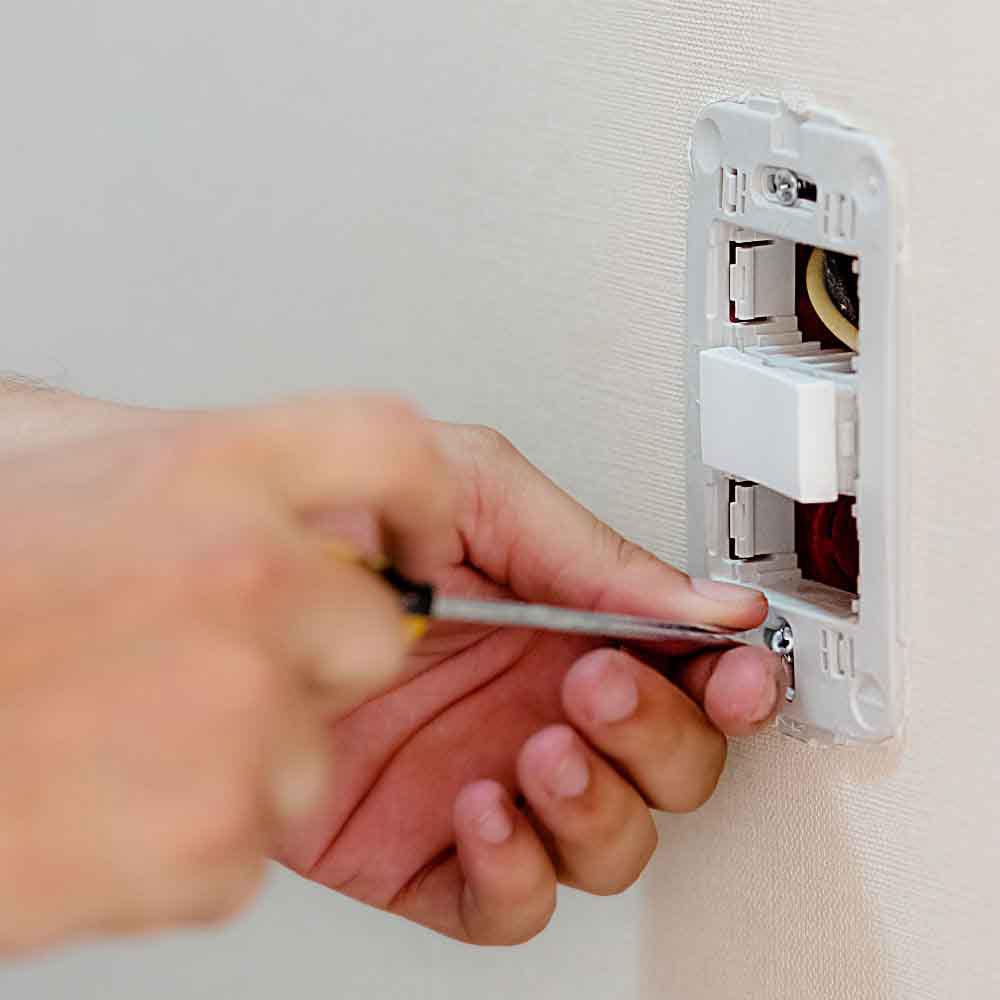 Instalação ou troca de até 4 interruptores
