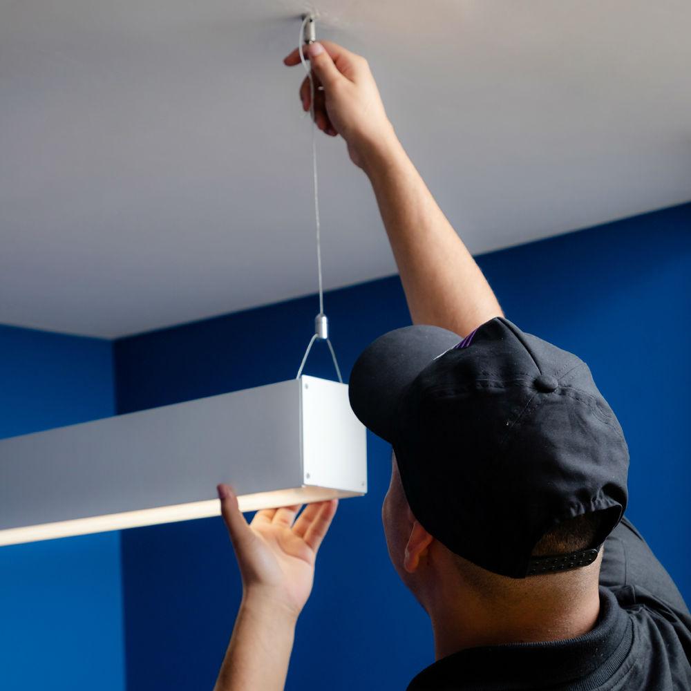 Empresa de instalação ou troca de luminárias TempoTem