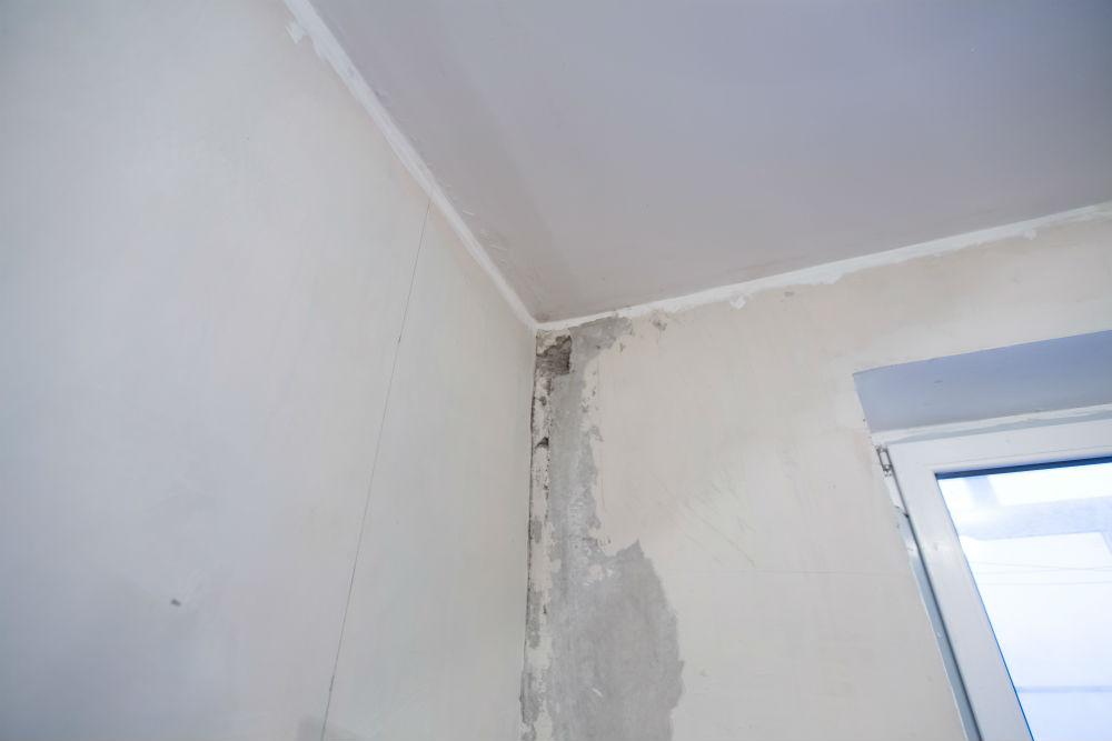 Serviço de contenção de vazamento em parede